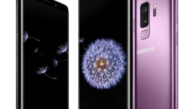 Samsung, Galaxy S9, S9+, S9 plus