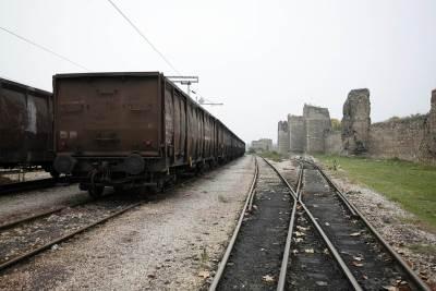 pruga voz železnica šine vozovi šina