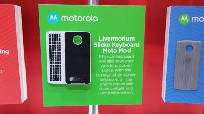 Lenovo Motorola Mods MWC 2018