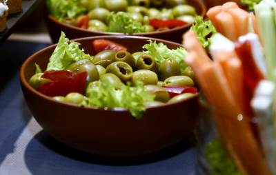 masline, salata, hrana,