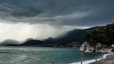 nevrijeme oblaci kiša nevreme Budva