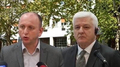 Milan Knežević i Duško Marković