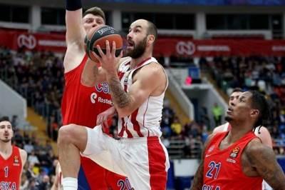 Vasilis Spanulis CSKA Olimpijakos