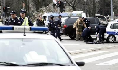 bomba skupština, policija