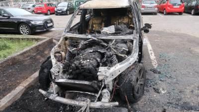 Paljenje auta KBC