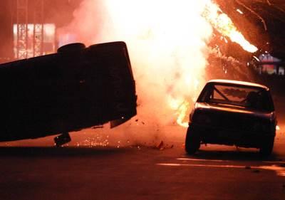 udes sudar nesreća tragedija požar automobil eksplozija auta