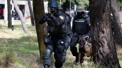 Specijalci PJP policija