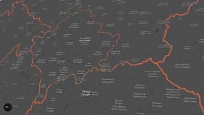 mapa, mape, kosovo