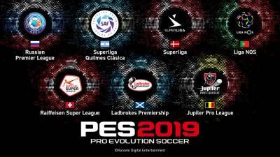 PES 2019 spisak liga i licenci