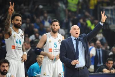 Pablo Laso Real Madrid Rudi Fernandez