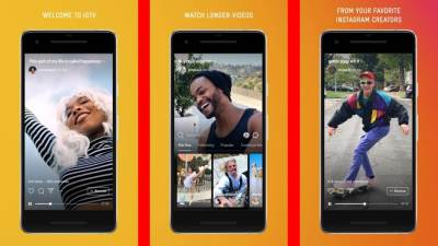 Instagram IGTV aplikacija video sat vremena