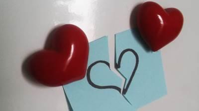 ljubav, srce, raskid