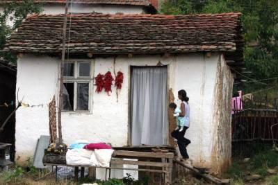 siromaštvo, romi, cigani, siromašni, selo, kuća