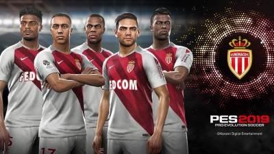 PES 2019 novi klub AS Monaco