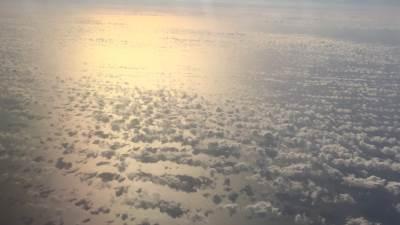 nebo, avion, letenje, oblaci
