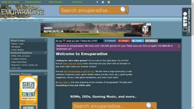 Emuparadise, Emulation