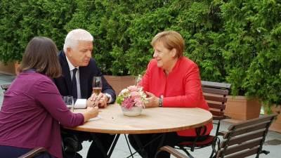 Merkel i Marković