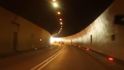 tunel, sozina