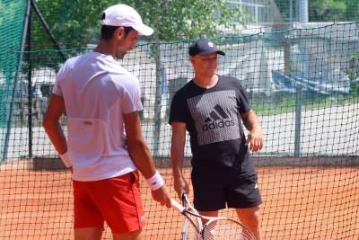 Novak Đoković i Marjan Vajda