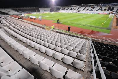 partizan humska tribine stadion stolice