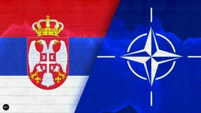 nato srbija nato i srbija nato alijansa zastava srbije beograd nato zastava