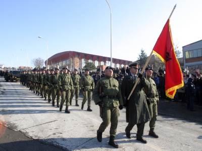 kosovo, albanija, zastava, albanska zastava