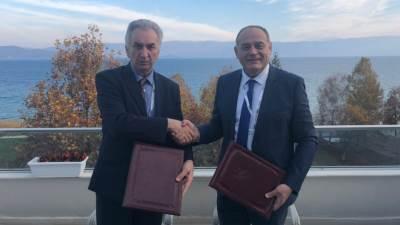Milutin Simović i Mirko Šarović