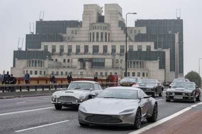 aston martin, džejms bond, 007, london, MI6
