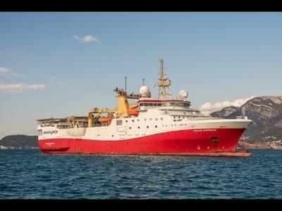 Brod Polar Empress, istraivanje nafte