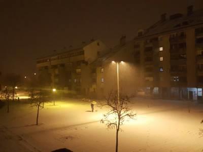 snijeg, Nikšić
