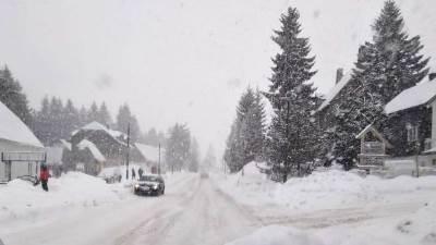 snijeg Žabljak zima