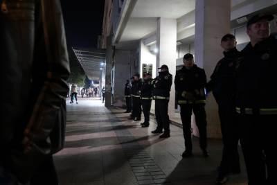 policija protest