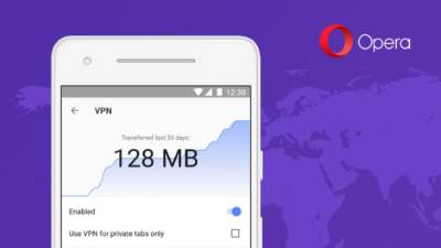Opera, VPN, Opera browser