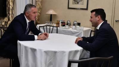 Đukanović i Zaev