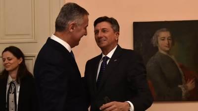 Đukanović i Pahor