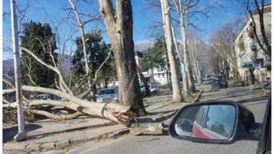 Danilovgrad, vjetar, nevrijeme