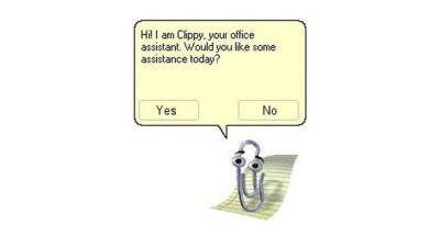 Clippy, Word, Spajalica, Microsoft Teams