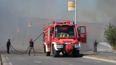 Požar, vatra,vatrogasci,