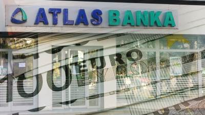 atlas banka, novac
