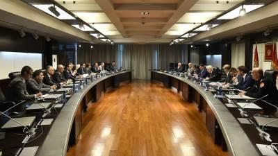 Vlada Crne Gore, sjednica, Igre malih zemalja Evrope
