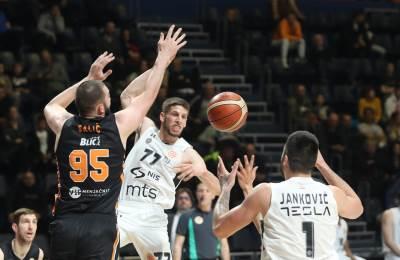 Aleksej Nikolić Partizan Dinamik