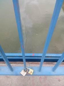 Katanac ljubavi, katanac, most