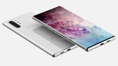 Samsung Galaxy Note 10 Pro: 360 renders