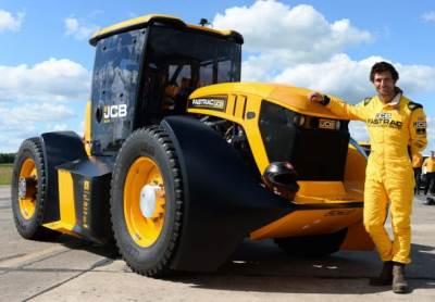 JCB fastrac 8000, traktor