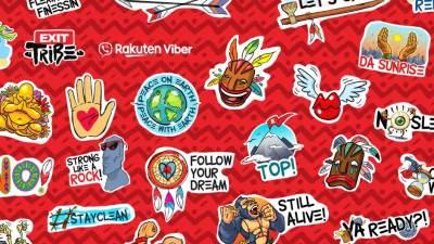 Preuzmite Exit Tribe Viber stikere, a priključite se Exit Festival Viber Zajednici