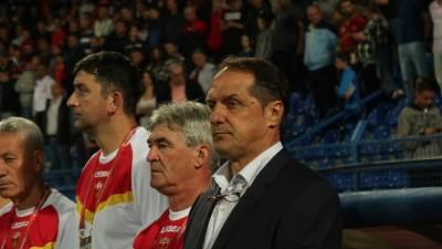 Faruk Hadžibegić, Fudbalska reprezentacija Crne Gore, Crna Gora Bugarska