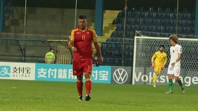 Fudbalska reprezentacija Crne Gore, Crna Gora Bugarska