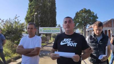 Niksen Čavor Spuž Protest