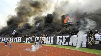 grobari navijači partizan stadion