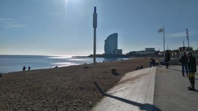 Barselona, Barseloneta, plaža